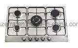 Construído em fogão a gás de aço inoxidável fogão a gás Jzs65001A