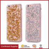 De luxe Bling schittert Geval van de Folie van de Bumper van de Fonkeling TPU het Beschermende Shell voor iPhone 7