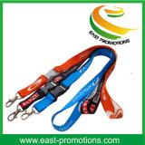Acollador de nylon de encargo promocional del cuello con insignia