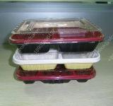 Verpakkende Dienblad van de Aardbei van het Dienblad van het Fruit van de Blaar van Clamshells het Verpakkende