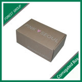 Коробка коробки фабрики оптовая дешевая складная Corrugated