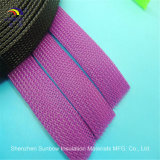 RoHSペット編みこみのケーブルスリーブを付けるポリエステル編みこみに拡張可能にスリーブを付けること