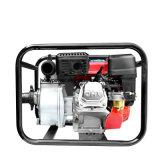 4 인치 단단 키 시작 원심 가솔린 수도 펌프