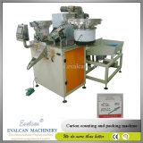 Parafuso automático de alta precisão, porca, máquina de embalagem de papelão da lavadora