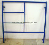 Baugerüst-Puder-überzogener Maurer/Strichleiter-Rahmen-Gestell