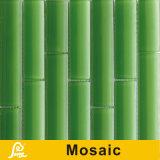 Mosaico de bambú del diseño de la venta caliente para la serie de bambú de la decoración de la pared (verde de hierba/rojo de bambú/blanco)
