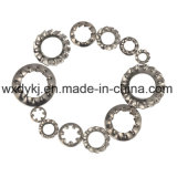 DIN 6797 de Interne Wasmachine van het Slot van Tanden Roestvrij staal Getande