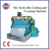 Máquina de corte e rebocação de matriz plana da série Ml