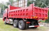 HOWO 6*4 빨간 덤프 트럭