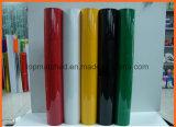 Film matériel r3fléchissant adhésif de vinyle de transfert thermique de produits de sûreté