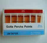 Dentales 0,04 puntas de gutapercha