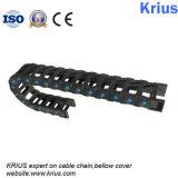 Клин для отвода цепи пластмассы подноса гибкия кабеля