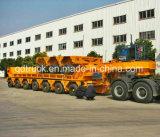 트레일러를 수송하는 다중 차축 브리지 광속 300 톤
