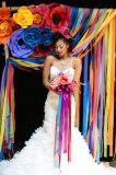 La boda del cumpleaños del globo metálico cinta que se encrespa