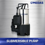 Pompe rapide de sous-marin d'Inox de roulement de drain et de qualité