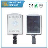 8W LED Solargarten-Straßenlaternemit Ce&RoHS Bescheinigung