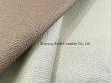 Сплетенная ткань драпирования PVC картины для софы/мебели/домашнего нутряного украшения