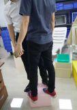 Envase plástico del rectángulo de almacenaje del hogar de la alta calidad para la ropa/los zapatos/las frutas en azul de Rodman