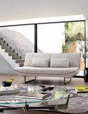 Base di sofà delle due sedi con il blocco per grafici del metallo