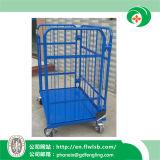 Carrello d'acciaio piegante della gabbia per il Ce di Wih del trasporto (FL-252)