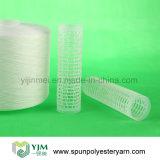 Knotenloses und niedriges Shrink-Polyester-rohes Garn