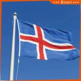 Su ordinazione impermeabilizzare e modello no. della bandiera nazionale dell'Islanda della bandiera nazionale di Sunproof: NF-052