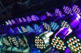 광저우 Yuelight 세륨 RoHS DJ 단계 빛을%s 가진 최신 인기 상품 광도 LED 54 3W 동위 빛