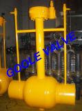 150lb/300lb/600lb/900lb furam completamente o descarregamento do tipo válvula de esfera inteiramente soldada (GAQ61PPL)
