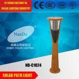 6W hohes Solarlicht der Helligkeits-LED für Garten-Gebrauch