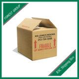 완전히 관례에 의하여 인쇄되는 두 배 편들어진 골판지 우송자 상자