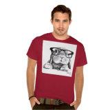 Rambo les T-shirts de lapin de hippie