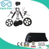 kit eléctrico de la bici del MEDIADOS DE motor de 36V 500W Bafang con la batería