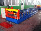 Roulis de feuille de toiture formant la machine