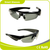 多色刷りフレームが付いているスマートなBluetooth V4.1の音楽およびスポーツのサングラス