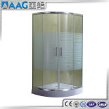 Recinto de cristal derecho de la ducha