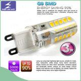 세라믹 3W 실리콘 G9 작은 전구 LED 빛