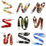 Merchandising Custom Logo Neck Lanyard Ribbon for Promotion