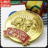 美しいデザインによってカスタマイズされるスポーツメダル