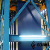 Dekorative Beschichtung des Wand-Baumaterial-Farbe-Überzogene Aluminiumring-PVDF