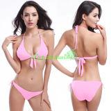 Bikini sexy de triangle de Halter pour des femmes