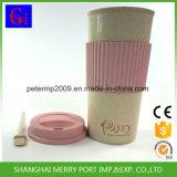 cuvette chaude de l'eau de fibre de blé de vente de 600ml 21oz, tasse en plastique