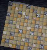 Mooie Muur en Vloer passen de de Van uitstekende kwaliteit van Sinocheer Shell Mozaïek, de Tegel van het Mozaïek van het Glas van het Kristal aan