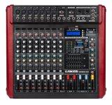 Misturador sadio profissional audio profissional da potência do misturador Gmr800d da alta qualidade com USB