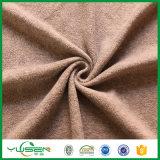 Ouatine 100% en gros de tissu de polyester de niveau élevé