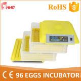 Incubateur complètement automatique le meilleur marché d'oeufs de poulet de vente chaude le mini (YZ-96A)