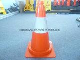 Cone do tráfego da alta qualidade do PVC 500mm de Jiachen