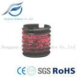 Écrou d'insertion en fil d'acier au carbone avec revêtement en nylon