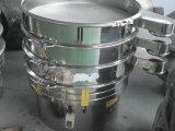 Peneira de vibração giratória circular do aço inoxidável para o pó e os grânulo