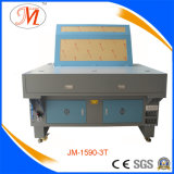 Máquina de estaca do laser das Múltiplo-Cabeças com a tabela de trabalho larga (JM-1590-3T)