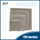 Plaque hydraulique automatique de filtre-presse de chambre de pp